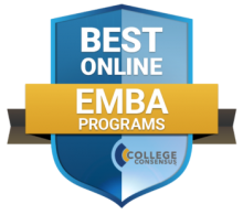 College Consensus, a college ratings website that aggregates publisher rankings and student reviews, rated Saint Mary's College with the 25 Best Online Executive MBA Programs 2019