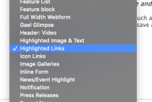 Highlighted Links