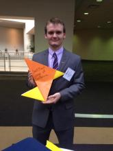 Sean Conway at the Enactus National Competition