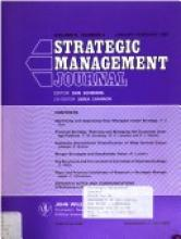 strategic management journal