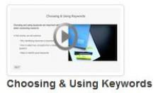Choosing & Using Keywords Tutorial