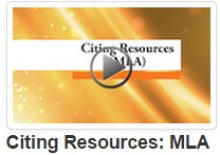 Citing Resources: MLA