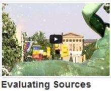 Evaluating Sources Video