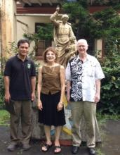 judith with lasallian brothers