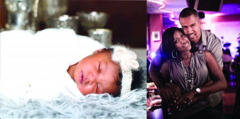 Rita (Cole-Pennewell) '02, Destah Owens and daughter CatalÃya