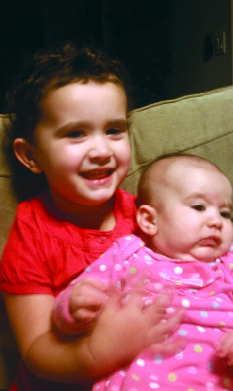 Jennifer (Machado) '03, Daughters Isabella and Sophia Marie
