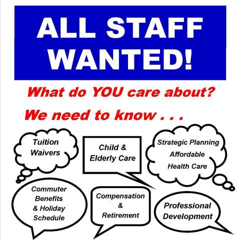 All Staff Wanted!