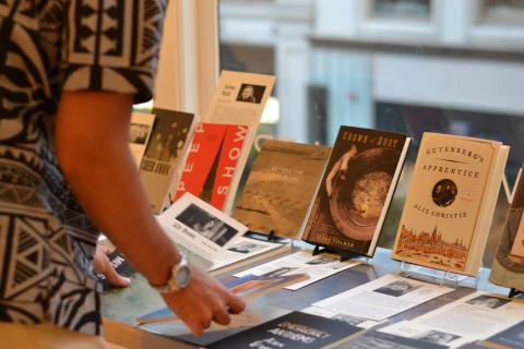 Alumni Books at the MFA Scholarship Fund Benefit