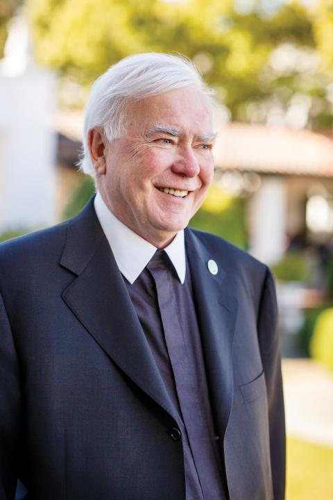Before he became president, Brother Ronald taught in the English Department at SMC and served as vice chancellor of Bethlehem University and president of the International Association of Lasallian Universities.