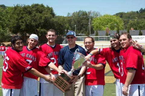 SMC Lacrosse Seniors After Winning 3rd Straight WCLL Title
