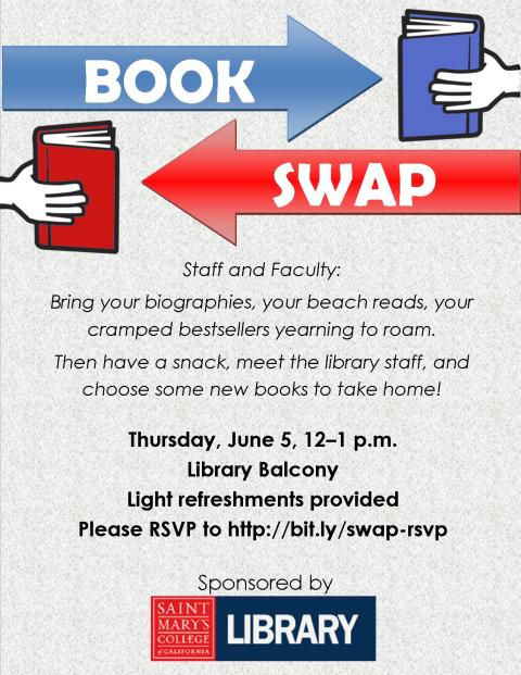 Book Swap flyer