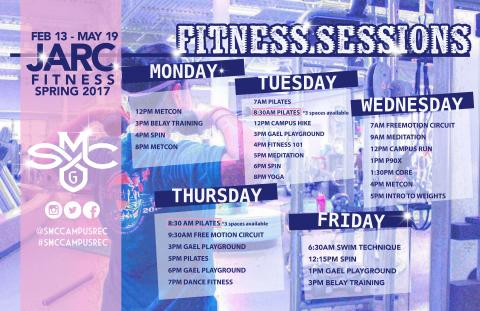 Fitness Schedule v 7
