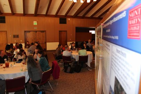 STEM faculty from a dozen California institutions gather for a SMC hosted science a
