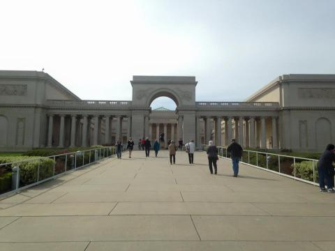 From our annual trip to the Legion of Honor in San Francisco.