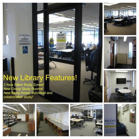 Come look at our fabulous new spaces!