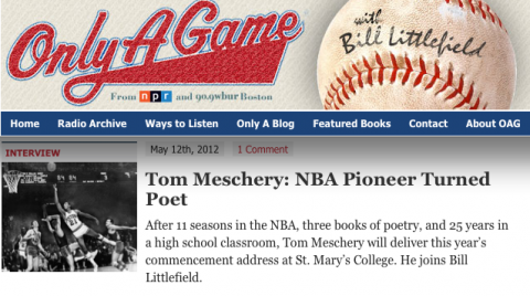 Screen Grab of Only A Game website