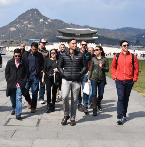 PMBA students visit South Korea