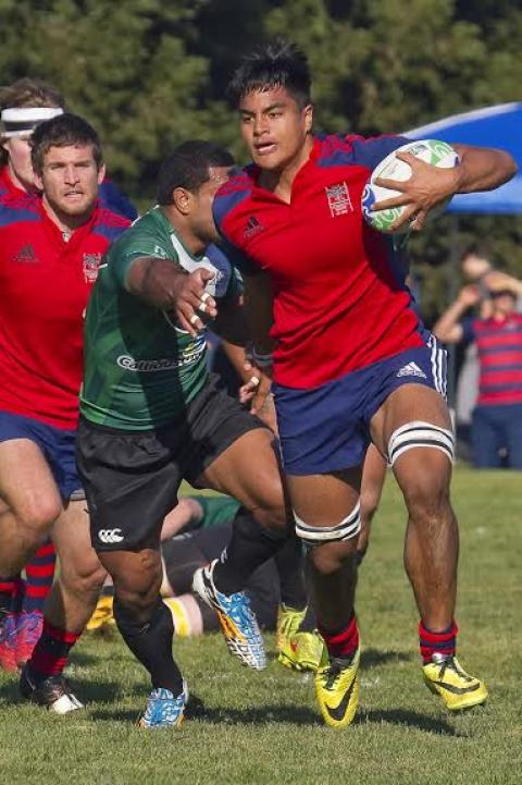 Freshman Vili Helu  ---- only freshman on A side