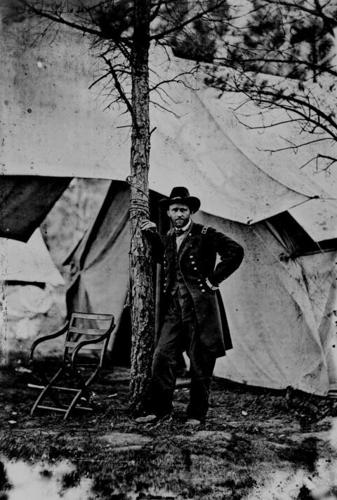 General Grant at Cold Harbor