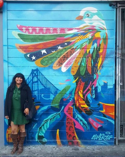 EMBA student Mona Khalil Mission District San Francisco