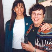 Dr. Colette Fleuridas and Dr. Zaida McCall-Perez in 1997.