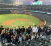 transfer students attend the a's game