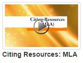 Citing Resources with MLA video