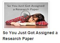 So You Just Got Assigned a Research Paper video