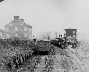 Station at Hanover Junction, PA.