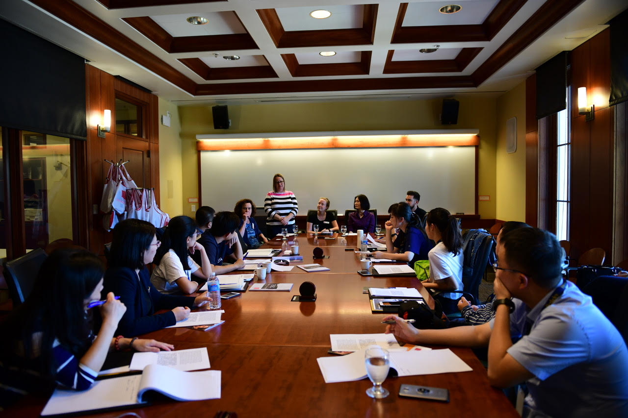 Scholars from Zhejiang University in Hangzhou, China visit Saint Mary's campus