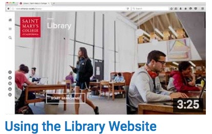 Using the Library Website