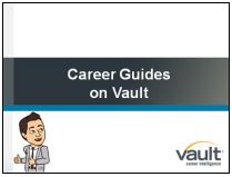 Link to Career Guides on Vault video